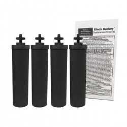 4 Filtres Purificateur Black Berkey Benelux
